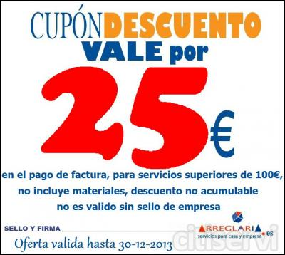 Oferta no acumulable.