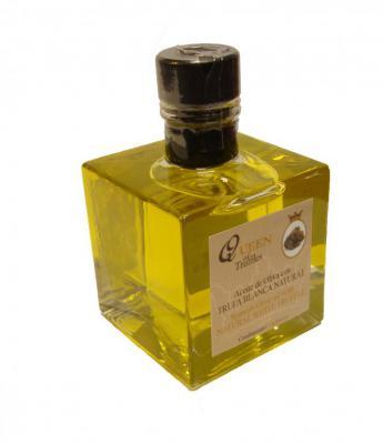 Aceite de Oliva Virgen Extra con aroma de Trufa Blanca. Queen of Truffles. 100ml. Ahora por tan solo 4,75€