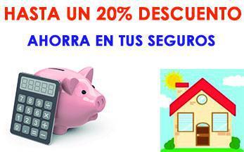 Te hacemos un descuento en el seguro de hogar de hasta un 20%. Llamanos y te asesoramos gratuitamente y sin compromiso sobre todos tus seguros y la manera de ahorrar en ellos. No lo dudes, llama ahora.