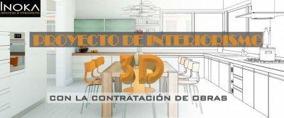 Proyecto de interior gratis, con propuesta de mobiliario y decoración, de tu vivienda, estancia a reformar o local totalmente gratis.