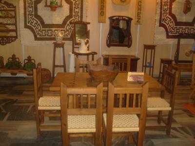 Ofertas en mobiliario rústico: -Mesas gigantes -Mesas de centro -Decoración rustica. -Maceteros de madera. - Cocinas rústicas. -Armarios