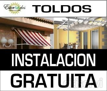 Toldos en Madrid Instalacion sin Cargo hasta abril del 2011