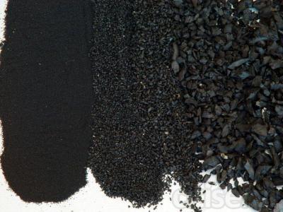 GRANZA DE CAUCHO, para diversas aplicaciones: asfaltos, césped artificial, losetas, pavimento en continuo y alcorques, hipica y rellenos obra civil.