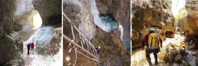 Fin de Semana Multiaventura para disfrutar del otoño e invierno en Huesca.  Estancias de 1 noche y 2 o 3 actividades a elegir entre barranquismo, via ferrata, senderismo, segway y visitas a bodegas del somontano.