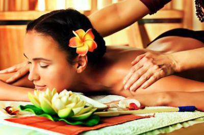 2 masajes relajante de 45 min de duración