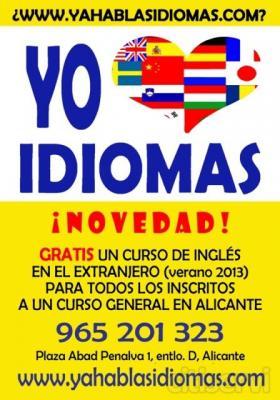 ¡Para todos los inscritos a cualquier curso general,  un curso intensivo de 20 lecciones en el extranjero GRATIS!