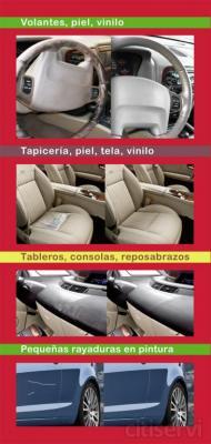 Restauracion de volante conductor piel, vinilo, plastico, etc.