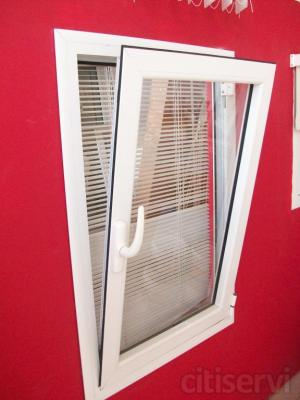 Ofertas en todo tipo de aberturas y cerramientos de aluminio lacado color blanco, fabricación y montaje incluido.