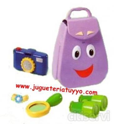 DORA MOCHILA PARLANCHINA www.jugueteriatuyyo.com
