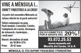 OBRET FINESTRES A LA CRISI!
