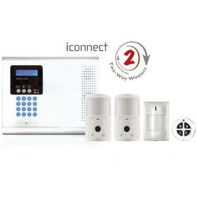 Alarma completa con fotodetectores. Totalmente controlable desde cualquier parte del mundo.