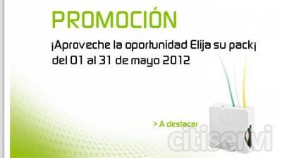 Los automatismos en Alta Definición PROMOCIÓN del 01 al 31 de mayo 2012 ¡1 Pack gratis por la compra de 2! Para iluminación  -        50,35 € Pack TYXIA 500 - ref.6351261  Para persianas -           53,00 € TYXIA 4630 + 2630  - ref.6351252 +