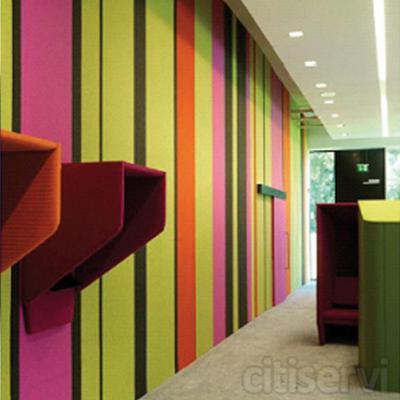 Cuál sería el perfecto revestimiento para su pared? ¿suave y aislante acustico? ¿una superficie para fijar fotos? ¿Disponible en colores llamativos y fáciles de instalar? ¿respetuoso con el medioambiente?... ahora puede tener todas esto a la vez! E