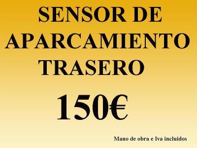 LLávate instalado el sensor de radar de aparcamientro trasero por 150 euros todo incluido