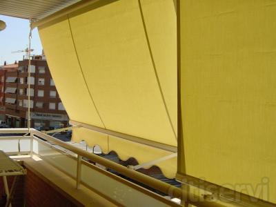 foldos de balcon  homologados por la ce y con tornilleria en acero inoxidable.