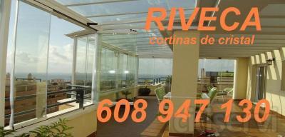 OFERTA INSUPERABLE, todas las alturas y con vidrio de 10mm, su cortina de cristal por solo 180€ m2 Malaga, Cordoba y sus provincias, otras provincias consulte nuestra web