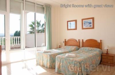 Habitaciones por solo 35€ por habitacion por noche (No es por persona) Habitacions con Baalcon privada y en suite.