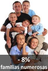 Un niño supone muchos gastos y en caso de parto múltiple todo se dispara. En Kids Matters somos sensibles a todas estas realidades y por eso hemos preparado una serie de medidas especiales.     8% Descuento para Familias Numerosas.