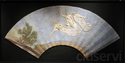 Abanico -El sueño-   med: 160x80 cm.