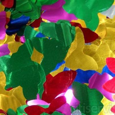 Confetti Forma Mariposa Color Metalizado de 5,5cm de diámetro.