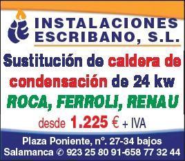 oportunidad¡¡¡¡ calderas de condensación de primeras marcas : Renau , Ferroli, Roca. desde 1225 € si es sustitución . no pases frio ni tires el dinero.