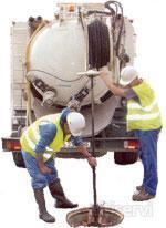 Realizamos un descuento del 5 % en nuestros servicios de desatascos en Santa Coloma con camion cuba de tuberias, arquetas, sifones, bajantes, desagues, wc, imbornales, fregaderos, alcantarillado.