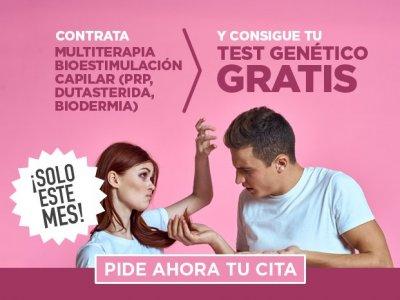REBAJAS CAPILÁREA ¡Para dar en el clavo de una vez por todas! Multiterapia de Bioestimulación Capilar (PRP, Dutasterida, Biodermia) + Test genético GRATIS