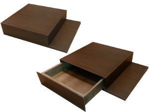 Mueble de 60 Ancho  x 45 Profundo x 12 Alto fabricado en madera de Wengué.