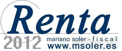 Te ayudamos a confirmar y verificar tu borrador o declaración de la RENTA de 2012. Solicita presupuesto sin compromiso.