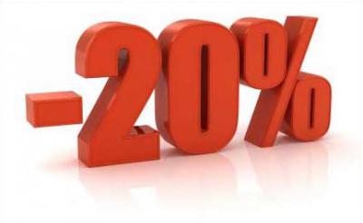 Promoción del 20% descuento en la contratación del segundo servicio