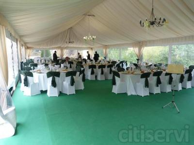 Descuento en el menu de bodas de catering  ereaga que incluya carpa  precio normal 180€ precio oferta 119€ Datalles