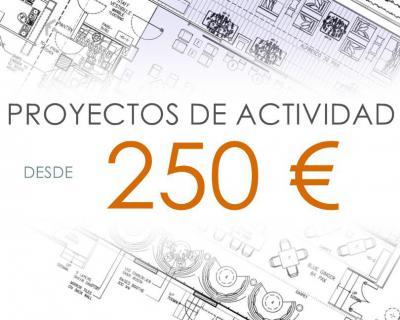 Proyectos de apertura para actividades inocuas desde 250€!!