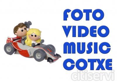 FOTO + VIDEO + MUSICO + AUTO = 3150€