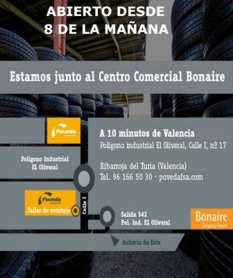 Oferta neumáticos de ocasión 245/40 ZR 18, de gran calidad, precios desde 35€ hasta 60€. Pol Ind El Oliveral, junto a ITV. También otras medidas 185/50 R 15, 205/50 R 17, 195/45 R 16, 195/60 R 14, 275/40 R 20. Siguenos en Facebook: facebook. com/neumatico