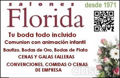 COCTEL RECEPCION DE INVITADOS, MENU ESPECIAL 2012 + FLOR NATURAL DE PRESIDENCIA Y TOQUES DECORACION RESTO DE MESAS + MINUTAS PERSONALIZADAS + MENUS ESPECIALES + DISCO MOVIL Y BARRA LIBRE 3 HORAS DESPUES DEL CAFE DESDE 60€ TODO INCLUIDO (minimo 95 a 110
